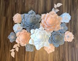 paper flowers wall decor paper flower