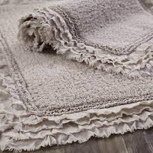 25 Home Decor Finds For Under 25 Cotton Bath Rug Farmhouse Rugs Bath Rug