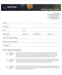 Wedding Contract Agreement - Spielbank.us