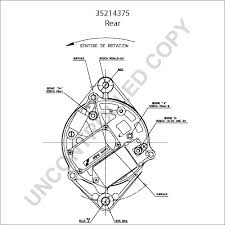 prestolite leece neville 35214375 rear dim drawing