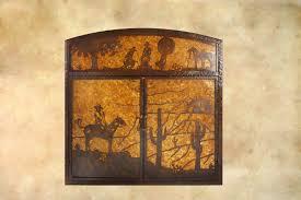 indian creek fireplace screen