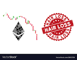Collage Ethereum Fall Chart With Scratched Hair