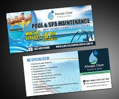 pool service flyers. Flyer Design By MDesigns For Always Clear Pools N Spas | Design: #5655957 Pool Service Flyers