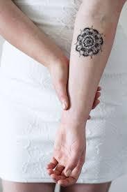 Mandala Temporary Tattoo Tattoos Tattoos Marquesan Tattoos
