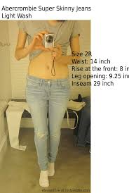 Abercrombie And Fitch Mens Size Chart Abercrombie And Fitch Jeans Fit Size Guide I Compared The