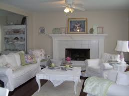 Shabby Chic White Coffee Table Modern White Nuance Of The Living Shabby Chic That Has Cream Wall