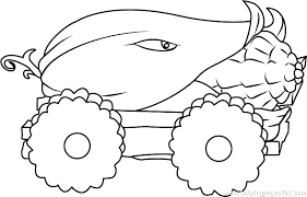 Zombie Coloring Pages Printable Ng Free Children Plants Vs Zombies