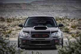 picture subaru front black impreza wrx sti automobile