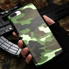 kisscase for iphone 7 case military camouflage cool men leather back cover case for iphone 7