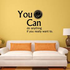 office wall stickers. You Can Encouragement Vinyl Wall Stickers Home Decor Younger Room\u0027s Decals Office Sticker A