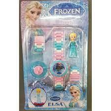 Đồng hồ và đồ chơi lego elsa và pony cho bé gái giảm chỉ còn 110,000 trong  2020