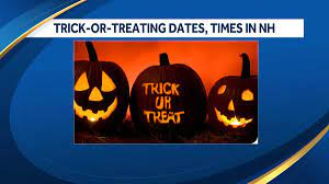 2020 Halloween trick-or-treating dates, times in New Hampshire - Path of Ex