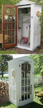 Build A Tool Shed From Repurposed Doors | Awesome Old Furniture ...