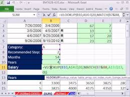 salary range calculator excel magic trick 629 hr salary calculation based on relevant years
