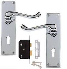 Perfect Door Handles With Locks Chrome S Throughout Innovation Design