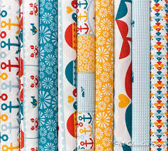 42 best By the Sea images on Pinterest | Quilt block patterns ... & Fat Quarter Shop features the latest quilting fabric collections including  Birch Fabrics. Adamdwight.com