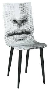 piero fornasetti furniture. Bocca Mouth Chair 1971 By Piero Fornasetti Steel Lithographed Plywood Furniture