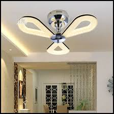 modern ceiling fans with led lights stunning semi flush ceiling lights ceiling fan with light
