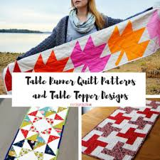 Table Runner Patterns Gorgeous 48 Free Table Runner Quilt Patterns And Table Topper Designs