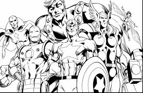 Small Picture The Vision Avengers Coloring Pages Printable Coloring Coloring Pages