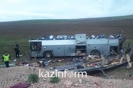 11 killed in horrific car accident in Zhambyl region