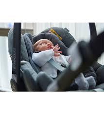 maxi cosi pebble plus i size car seat sparkling grey lifestyle image