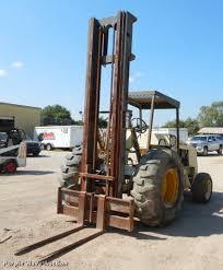 Ingersol Rand Forklift Ingersoll Rand Rt 708g Forklift Item Eo9518 Sold Septem