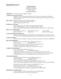 Political Science Resume Sample Unique Firefighter Resume Objective