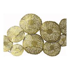 large circles wall décor gold wall sculptures moe 039 s whole