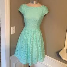 B Darlin Dress Size Chart B Darlin Lace Fit And Flare Dress Size 1 2