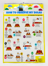 Solah Chart For Preschooler 3 To 5 Years Old