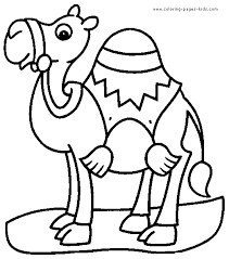 Small Picture Camel Coloring Page GetColoringPagescom