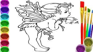 Small Picture Baby Angel Coloring Pages Angel baby Drawing and Colouring Book