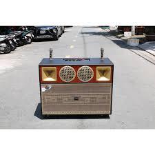 Loa kéo di động 4 tấc đôi ngang Bose 908 - Loa khủng long - 2 bass 2 mid 2  treble - Công suất 7000W - Âm thanh khủng - Dàn karaoke di động - Kèm 2  micro không dây UHF - Hàng nhập khẩu