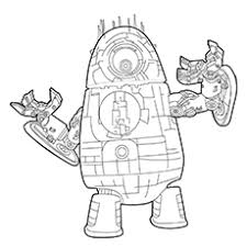 Push pack to pdf button and download pdf coloring book for free. 20 Cute Free Printable Robot Coloring Pages Online