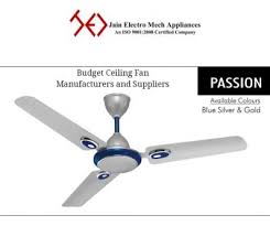 budget ceiling fan manufacturers and suppliers image 1