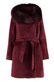 Best Price On The Market At Italist Max Mara Studio Max Mara Studio Osmio Hooded Alpaca Blend Coat