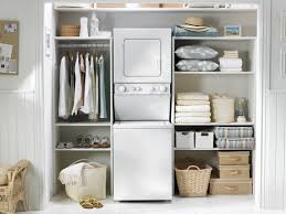 space saving shelves for small laundry areas