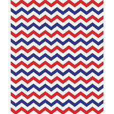 red white blue chevron printed backdrop