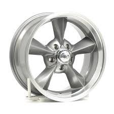 US Wheel 701 <b>Retro</b> wheel 17x8 5x4 3/4 Alum <b>1pc</b> Silver Gloss ...