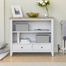 painted office furniture. Signature Grey Low Bookcase Painted Office Furniture