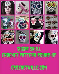 Skull Crochet Pattern Inspiration Crochet Pattern RoundUp Sugar Skull Designs Crochetville