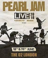 Pearl Jam 2018 Tour Wikipedia