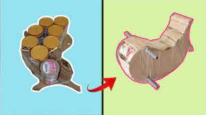Làm bập bênh từ hộp sữa | How to make seesaw with milk box - YouTube
