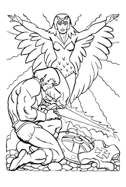 Coloring Pages : Fascinating He Man Coloring Pages Pixels Pacman ...