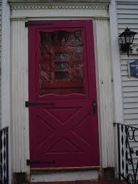 front storm doorsProvia Larson Storm Door Azek PVC replaces wood exterior house