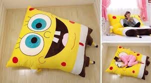 Huge Spongebob Sofa Bed beanbag 200*150cm 10 day delivery worldwide