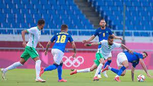 نتيجة مباراة السعودية والبرازيل في اولمبياد طوكيو 2020.. الدفاع يَبهت  الأخضر - ميركاتو داي
