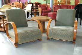 deco style furniture. Art Deco Furniture Style A Pair Of Easy Arm Chairs Produced By Heal Son .