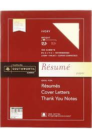 Southworth Resume Paper 3 Southworth 100 Cotton Resume Paper Ivory